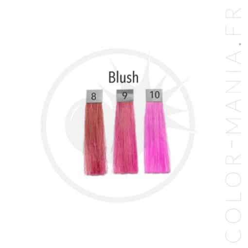 Pink Blush Hair Coloring - Pulp Riot | Color-Mania.fr