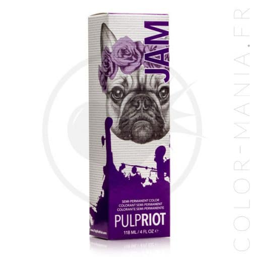 Coloration Cheveux Violet Jam - Pulp Riot | Color-Mania.fr