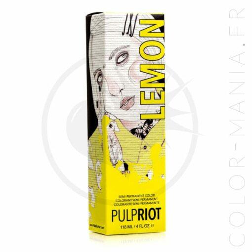 Coloration Cheveux Jaune Lemon - Pulp Riot | Color-Mania.fr