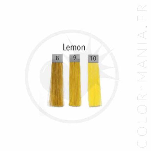 Colore dei capelli Giallo limone - Ripple di polpa | Color-Mania.fr
