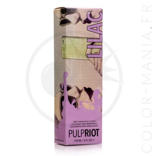 Coloration Cheveux Violet Pastel Lilac - Pulp Riot | Color-Mania.fr