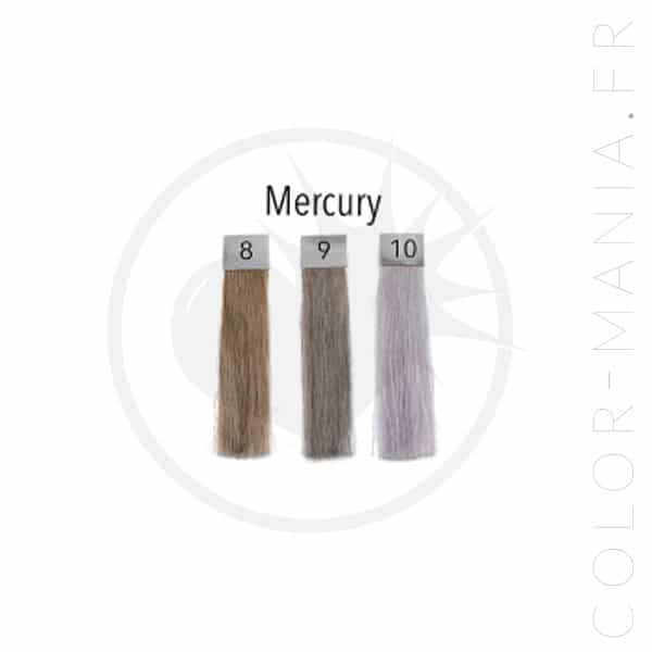 Coloración del cabello gris mercurio - Pulp Riot | Color-Mania.fr