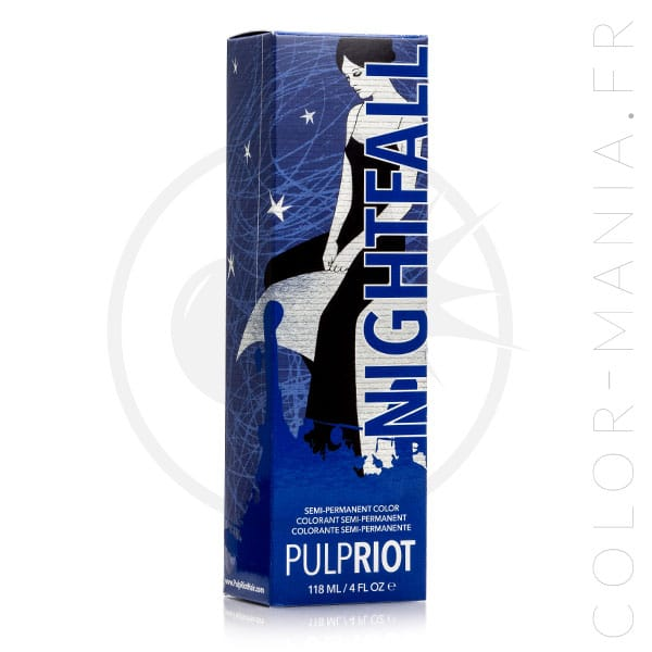 Hair Color Blue Nightfall - Pulp Riot | Color-Mania.fr