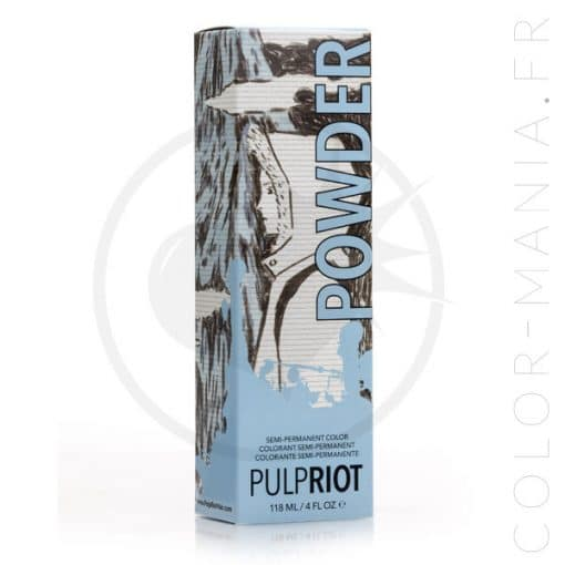 Coloration Cheveux Bleu Powder - Pulp Riot | Color-Mania.fr