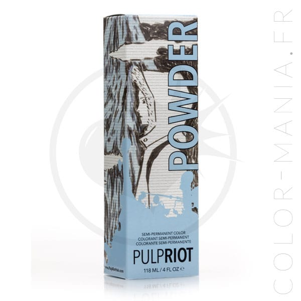 Hair Color Blue Powder - Pulp Riot | Color-Mania.fr