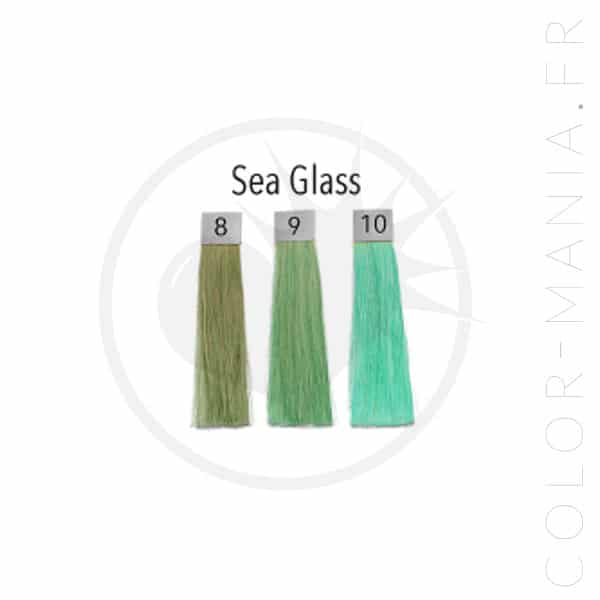 Seaglass Green Hair Coloring - Pulp Riot | Color-Mania.fr
