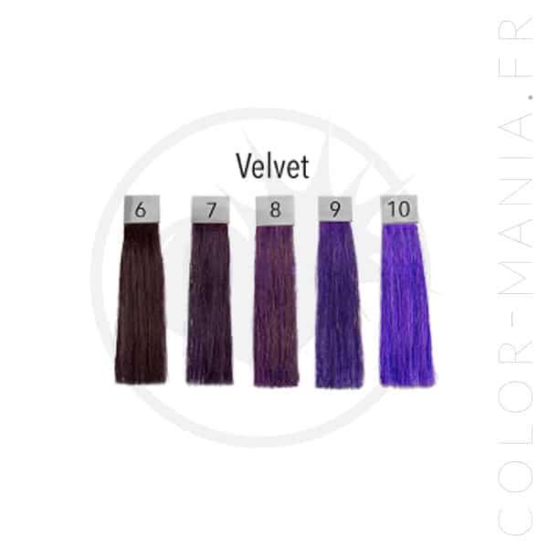 Coloration Cheveux Violet Velvet - Pulp Riot | Color-Mania.fr