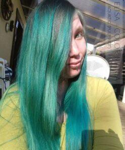 Merci Elisa :) Coloration Cheveux Bleu Aquatic - Pulp Riot   Color-Mania