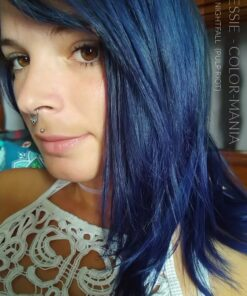 Merci Jessie :) Coloration Cheveux Bleu Nightfall - Pulp Riot | Color-Mania