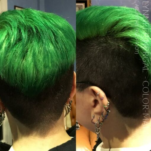 Merci Lynnfer Nergal :) Coloration Cheveux Vert Absinthe - Pulp Riot   Color-Mania