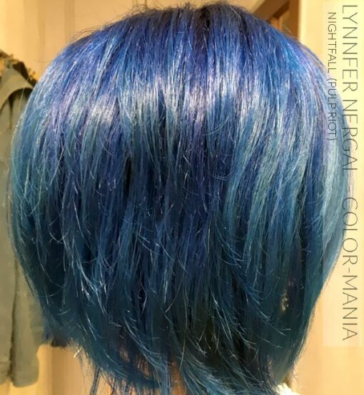 Merci Lynnfer Nergal :) Coloration Cheveux Bleu Nightfall - Pulp Riot | Color-Mania