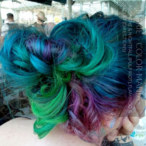Merci Marie :) Coloration Cheveux Flamand Rose - Directions | Color-Mania