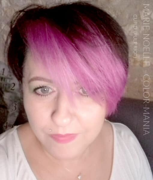 Merci Marie-Noelle :) Coloration Cheveux Rose Cupid - Pulp Riot | Color-Mania