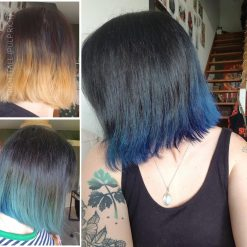 Merci Marion :) Coloration Cheveux Bleu Nightfall - Pulp Riot | Color-Mania