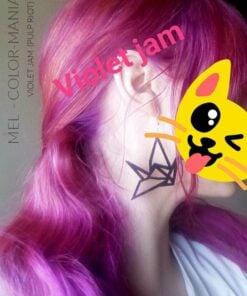 Grazie Mel :) Hair Coloring Violet Jam - Pulp Riot | Color-Mania