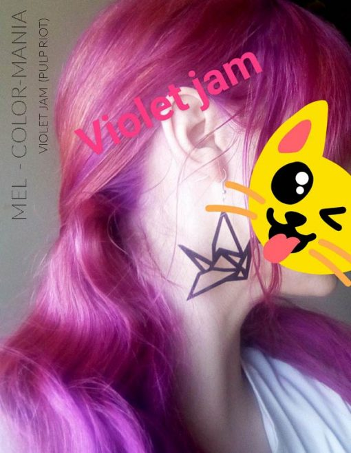 Merci Mel :) Coloration Cheveux Violet Jam - Pulp Riot | Color-Mania