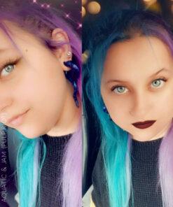 Merci @Meloooolipop Coloration Cheveux Bleu Aquatic - Pulp Riot | Color-Mania