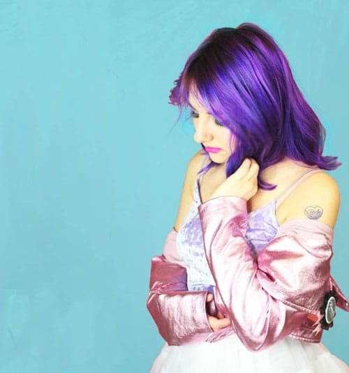 Candy Hashi - Color-Mania - cheveux violets