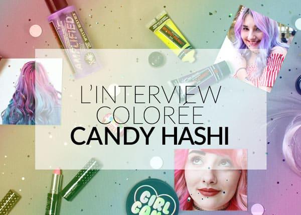L'interview colorée de Color-Mania - Candy Hashi