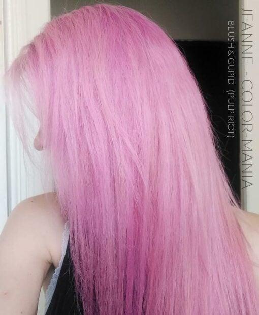 Merci Jeanne :) Coloration Cheveux Rose Blush - Pulp Riot | Color-Mania