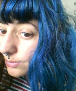 Merci Marie :) Coloration Cheveux Bleu Nightfall - Pulp Riot | Color-Mania