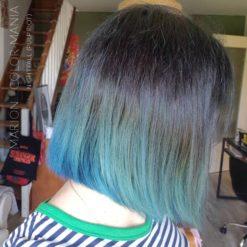 Merci Marion :) Coloration Cheveux Bleu Nightfall - Pulp Riot - Après plusieurs shampoings | Color-Mania