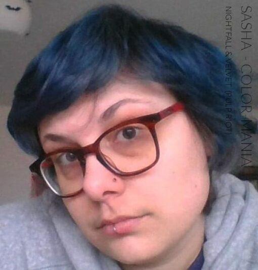 Merci Sacha :) Coloration Cheveux Violet Velvet - Pulp Riot | Color-Mania