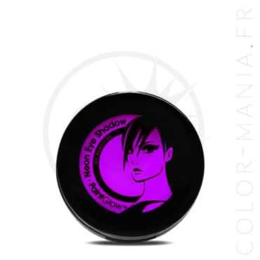 Fard à Paupière Violet UV - Paintglow | Color-Mania.fr