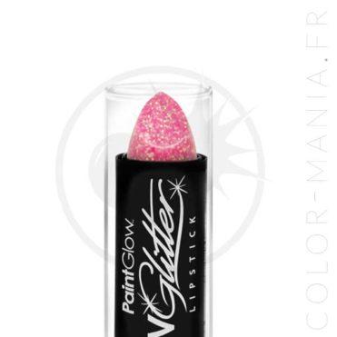 Rouge à Lèvres Paillettes UV Rose Champagne - Paintglow   Color-Mania