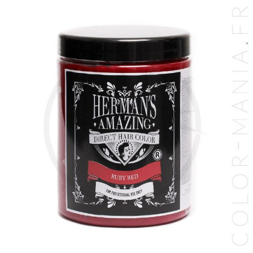 Herman's Amazing Rouge Ruby Red 1L | Color-Mania.fr