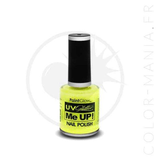 Vernis à Ongles Paillettes UV Sherbet Lemon - Paintglow | Color-Mania.fr