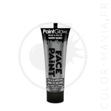 Maquillage Visage Professionnel Argent 13 ml - Paintglow | Color-Mania.fr