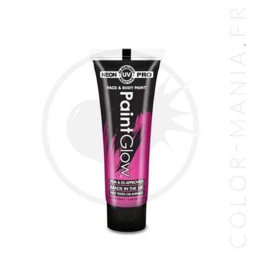 Maquillage Visage Professionnel UV Violet 13 ml - Paintglow | Color-Mania.fr