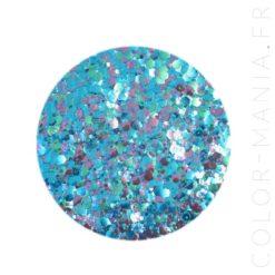 Paillettes Biodégradables Bleu-Violet Carnival - Luna | Color-Mania.fr