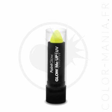 Rouge à Lèvres UV Jaune - Paintglow | Color-Mania.fr