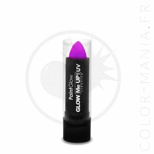 Rouge à Lèvres UV Violet - Paintglow | Color-Mania.fr