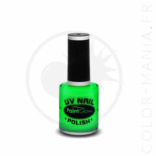 Vernis à Ongles UV Vert - Paintglow | Color-Mania.fr