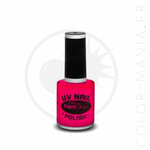 Vernis à Ongles UV Magenta - Paintglow | Color-Mania.fr