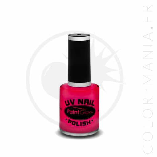 Vernis à Ongles UV Rose - Paintglow | Color-Mania.fr