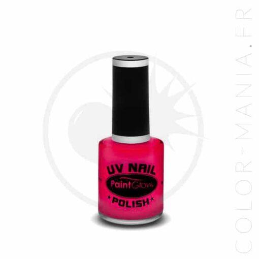 Vernis à Ongles UV Rose - Paintglow | Color-Mania.fr