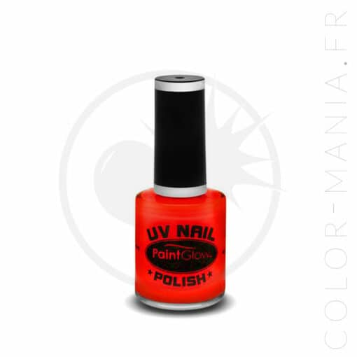 Vernis à Ongles UV Rouge - Paintglow | Color-Mania.fr