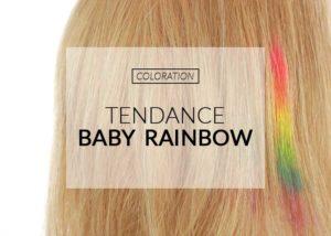 Tendance coloration baby rainbow | Color-Mania