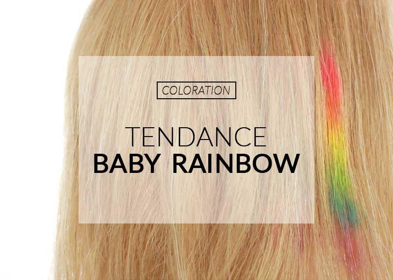 Tendencia del bebé arco iris para colorear | Color-Mania