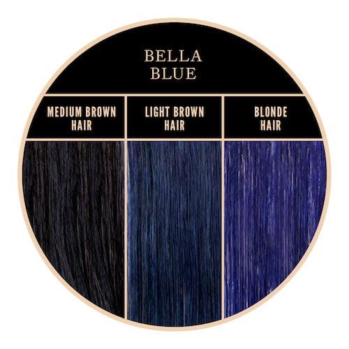 Coloration bleue Bella Blue de Herman's Amazing chez Color-Mania