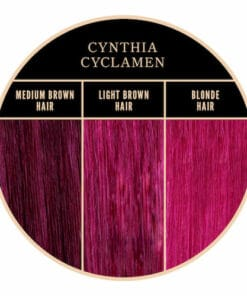 Coloration rose Cynthia Cyclamen de Herman's Amazing chez Color-Mania