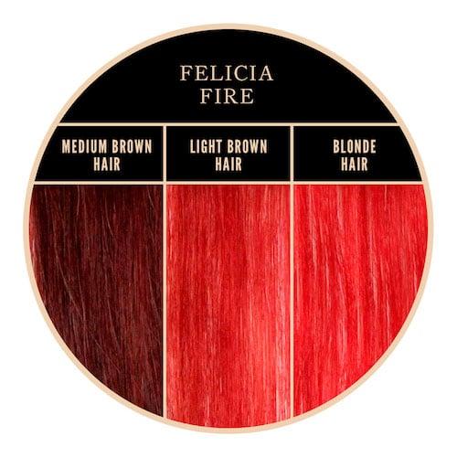 Coloration rouge Felicia Fire de Herman's Amazing chez Color-Mania