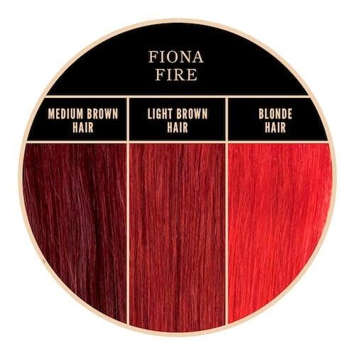 Coloration rouge Fiona Fire de Herman's Amazing chez Color-Mania