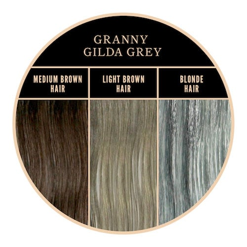 Coloración gris Granny Gilda Gray de Herman's Amazing en Color-Mania