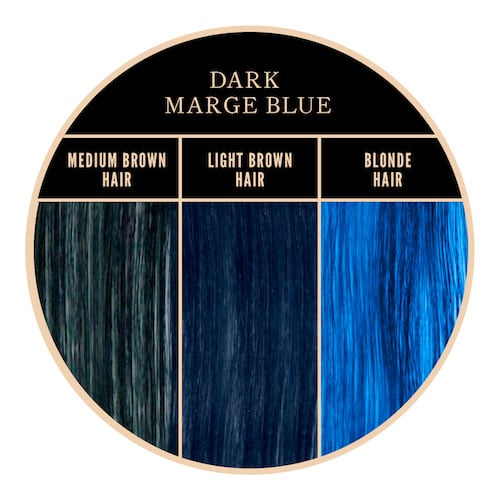 Color azul Marge of Herman's Amazing en Color-Mania