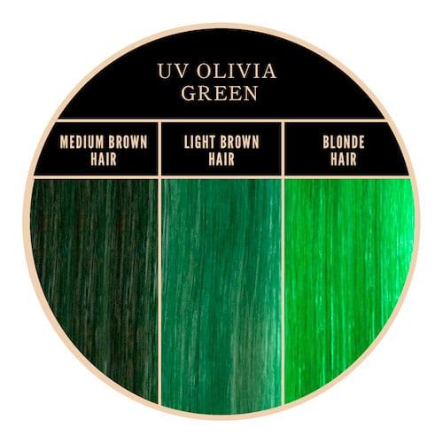 Coloration verte Olivia de Herman's Amazing chez Color-Mania